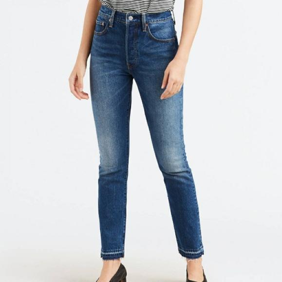 12bbc980b1c Levi s 501 Skinny Jeans Moody Marble Wash. NWT